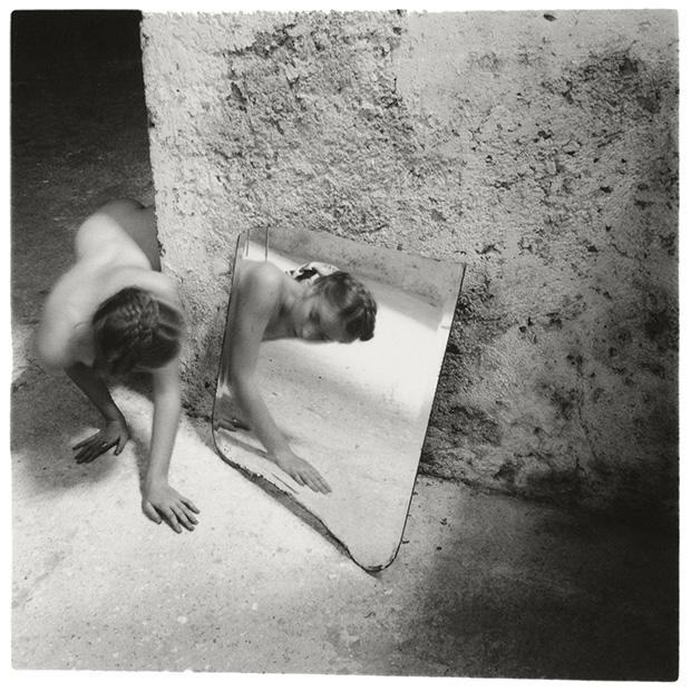 Francesca Woodman, Self-Deceit # 1, 1978 © Betty and George Woodman